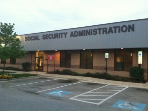 Social Security Administration building.