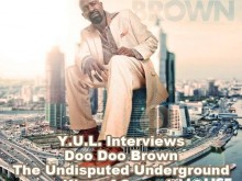 Comedian Doo Doo Brown Speaks to the morning crew at YUL Radio