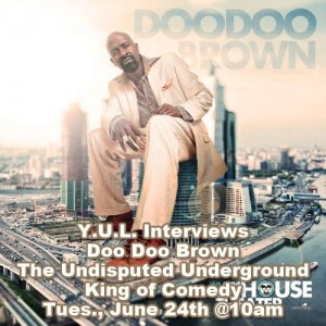 Comedian Doo Doo Brown